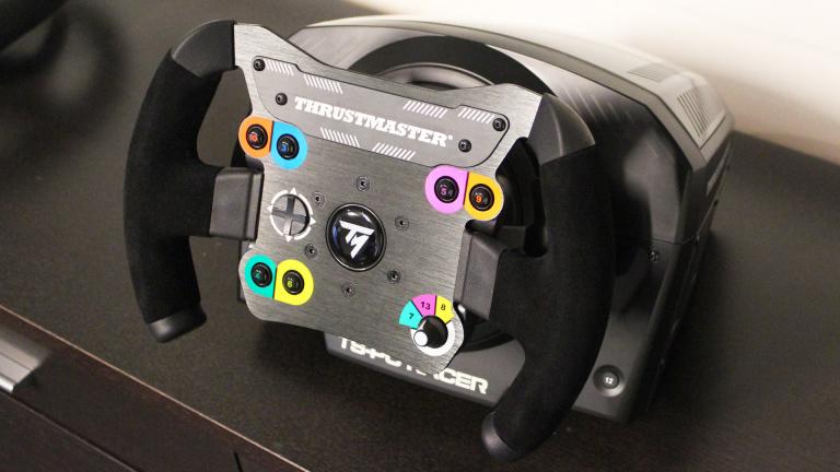 impressions sur le thrustmaster ts pc racer un volant qui a tout d 39 un grand actualit s. Black Bedroom Furniture Sets. Home Design Ideas