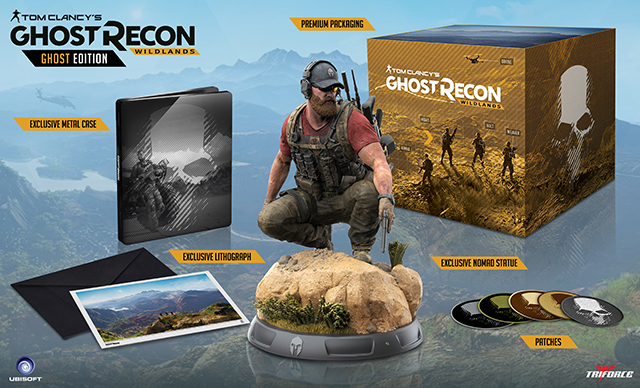 Ghost Recon Wildlands dévoile une collector à 219 $