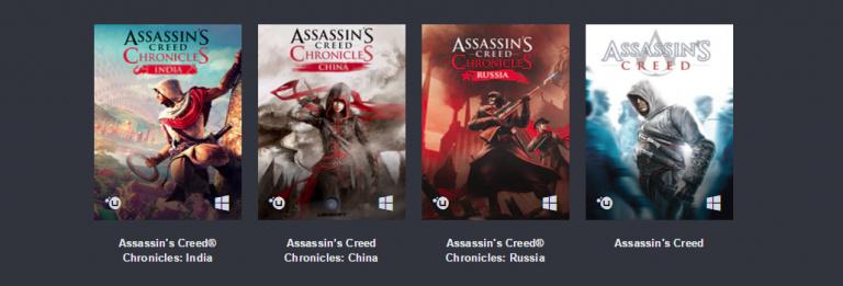 Humble Bundle : 9 jeux Assassin's Creed pour moins de 15 euros