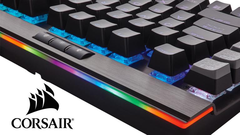 CES 2017 : Corsair s'attaque à votre porte monnaie avec un nouveau clavier
