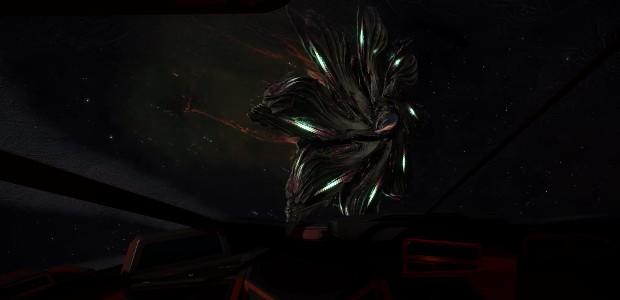 Une première rencontre avec des aliens dans Elite : Dangerous