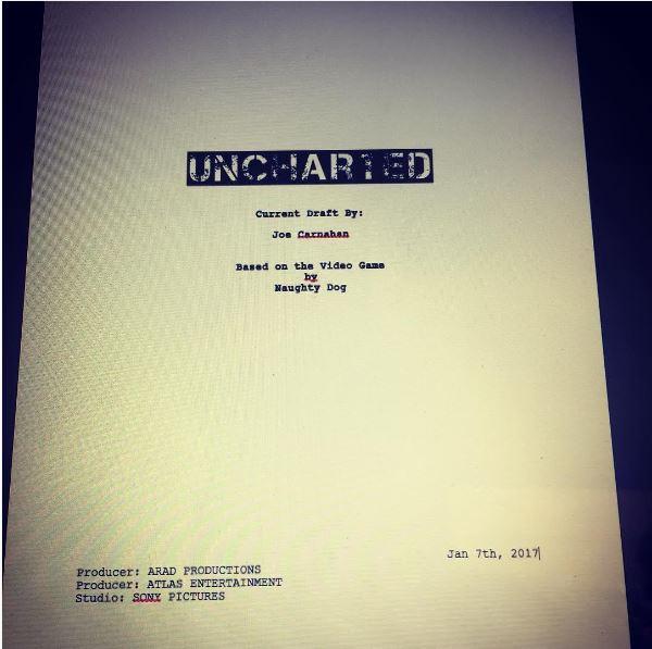 Uncharted : le scénario du film est bouclé
