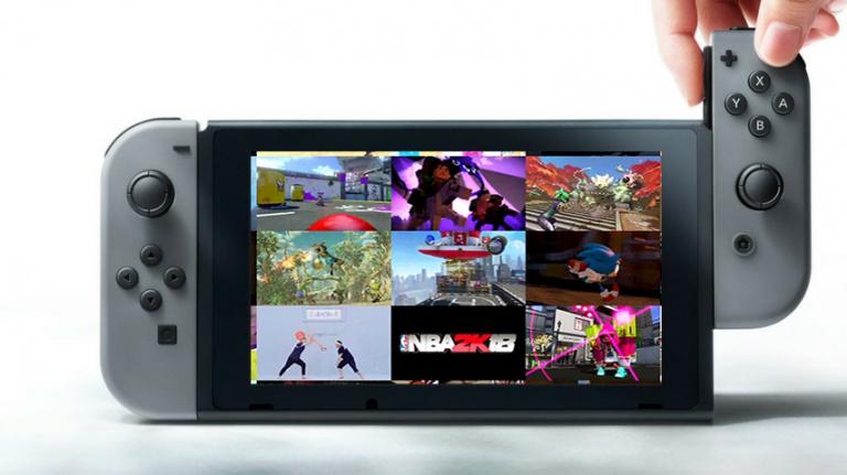 Nintendo Switch : la liste de tous les jeux confirmés
