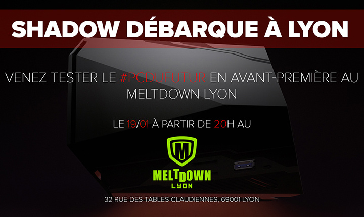 Shadow, le PC dans le cloud, en démonstration à Lyon