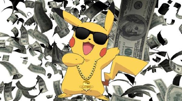 Pokémon GO : 950 millions de dollars de recettes en 2016