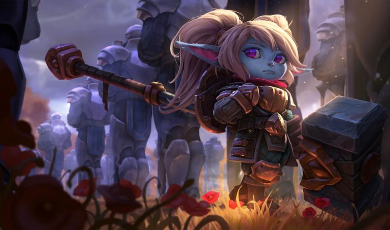 Poppy, gardienne du marteau