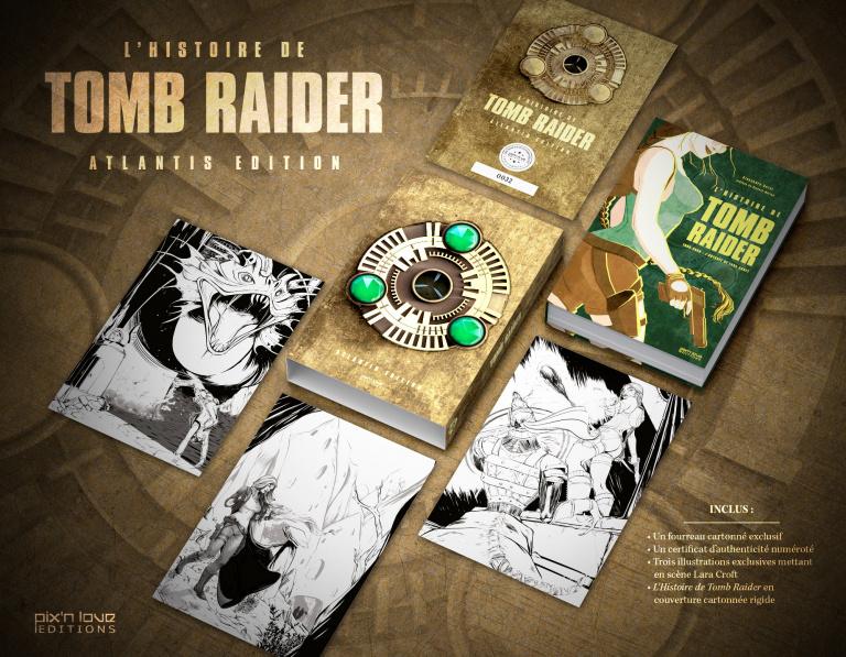 L'Histoire de Tomb Raider aux Éditions Pix'n Love