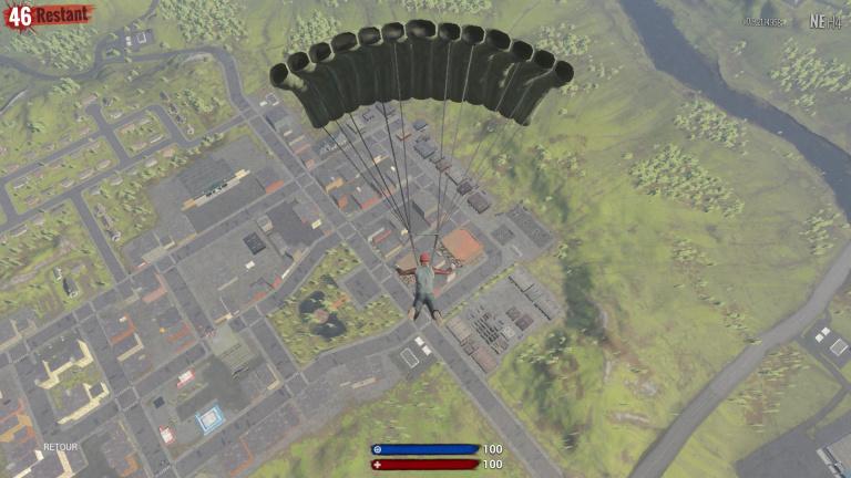 Diriger son parachute