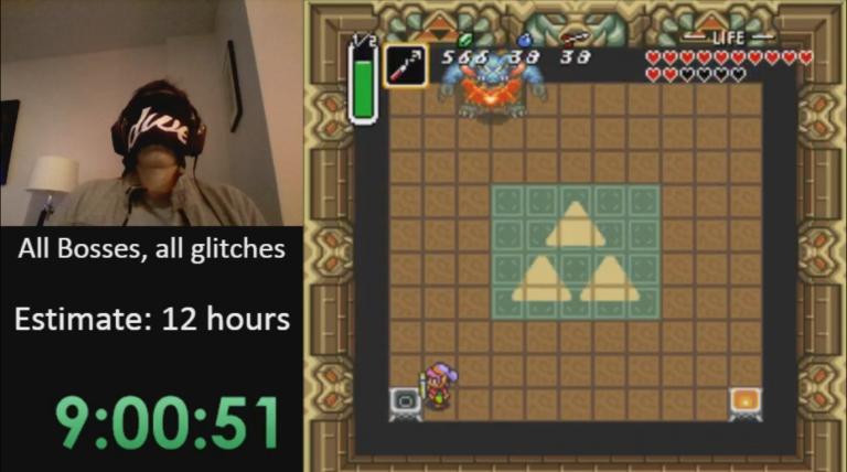 Un joueur termine le jeu les yeux fermés !