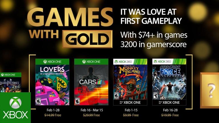 Xbox Live Gold : découvrez les jeux gratuits du mois de février