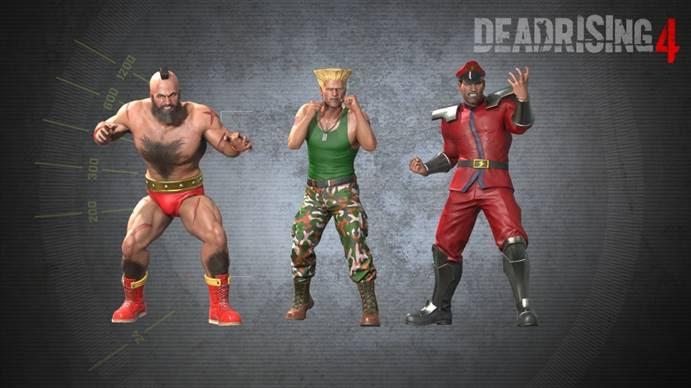 Dead Rising 4 : Deux nouveaux modes de difficulté et des skins Street Fighter !