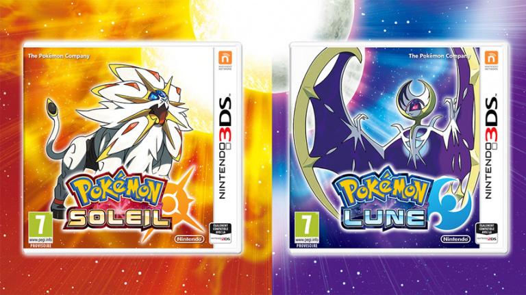 Pokémon Soleil / Lune : 14 millions d'unités écoulées en 2016