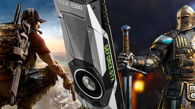 NVIDIA : Un jeu Ubisoft offert avec votre GeForce GTX 1070 ou 1080