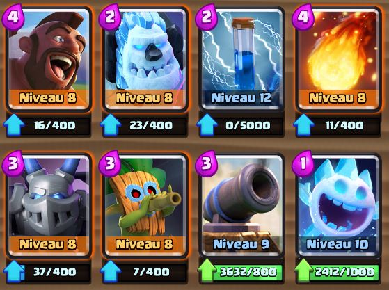Deck cochon gobelin sarbacane ar ne 9 et astuces for Clash royale meilleur deck arene 7