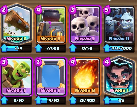 Deck sorcier lectrique app ts ar ne 7 ou astuces for Clash royale deck molosse