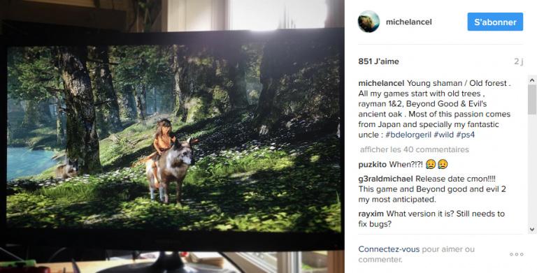 Wild : Michel Ancel poursuit son teasing sur Instagram