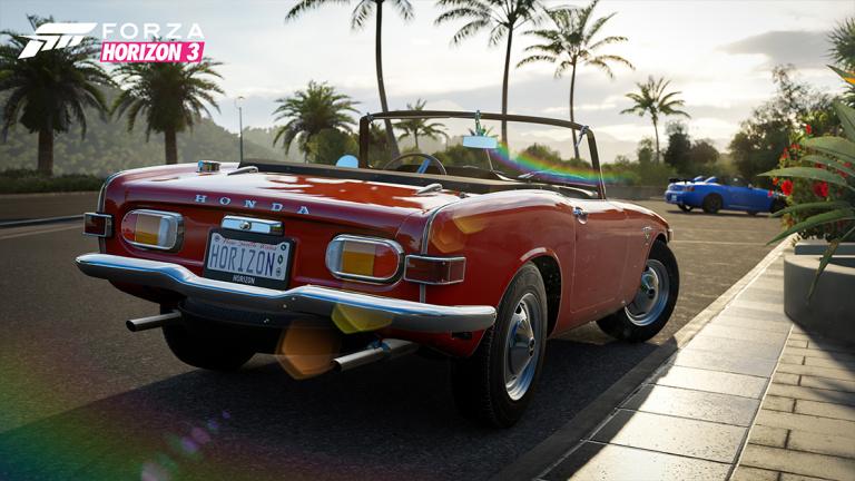 Forza Horizon 3 : Présentation du Playseat Car Pack