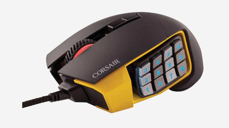 Test Corsair Scimitar : La marque se lance dans la guerre des boutons