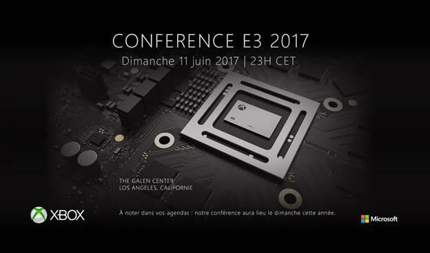E3 2017 : la conférence Xbox datée avec une FanFest