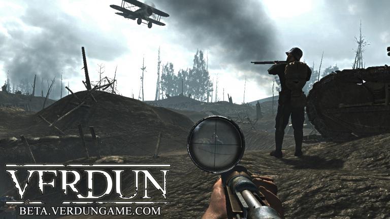Verdun se trouve une date de sortie sur Xbox One