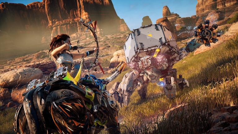 Horizon Zero Dawn : Digital Foundry est satisfait du jeu