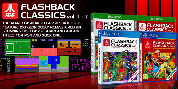 La collection Atari Flashback Classics se met en boîte pour la fin mars