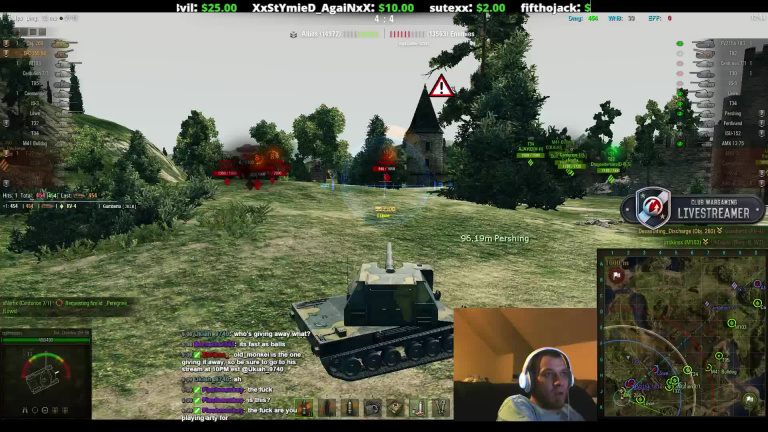 Un streamer World of Tanks décédé après un live caritatif de 22h
