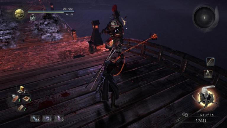 La bataille du pont d'Ohashi