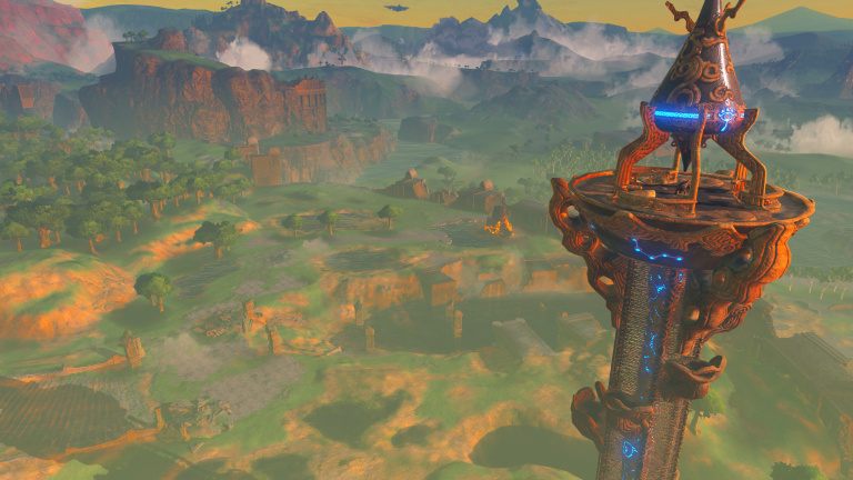 The Legend of Zelda - Breath of the Wild  : où se trouvent les Tours Sheikah ? Notre guide
