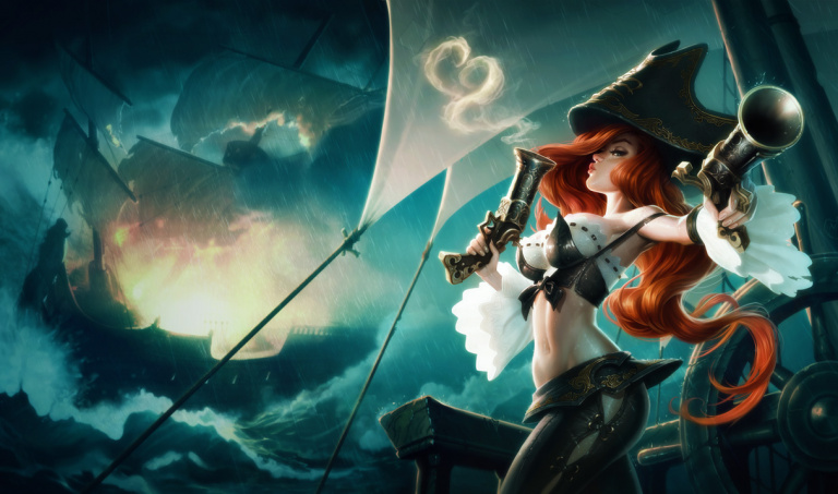 Miss Fortune, chasseur de primes