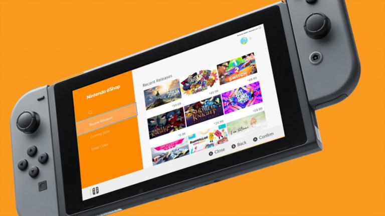 Nintendo Switch : la liste des jeux disponibles sur l'eShop