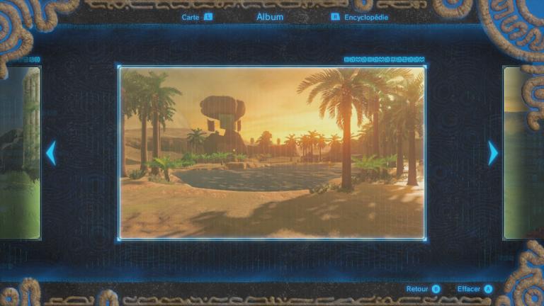 Où trouver le souvenir de Link n°4 ?