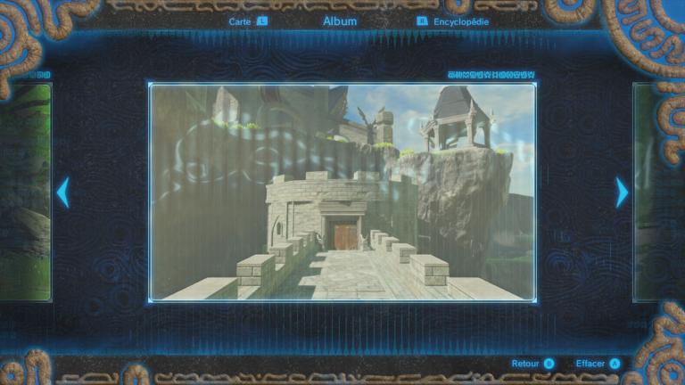 Où trouver le souvenir de Link n°8 ?