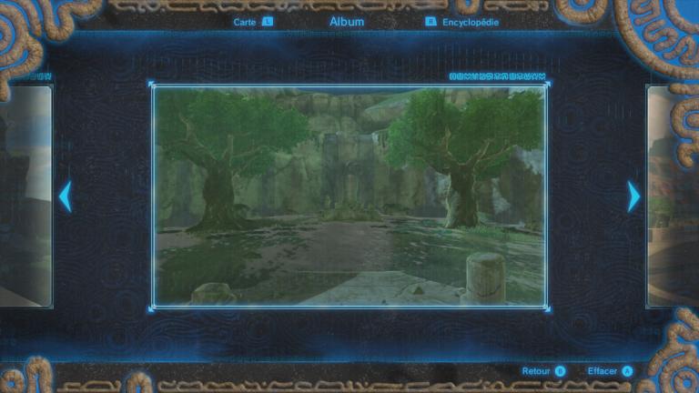 Où trouver le souvenir de Link n°9 ?
