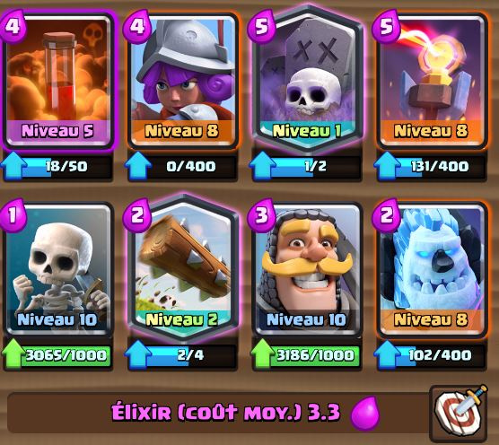 Deck cimeti re poison ar ne 8 et astuces et guide for Deck arene 5 miroir