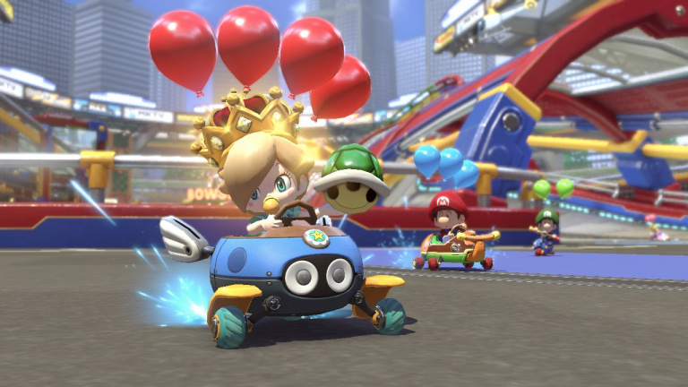 Mario Kart 8 Deluxe : en 1080p et 60FPS sur un écran de télévision