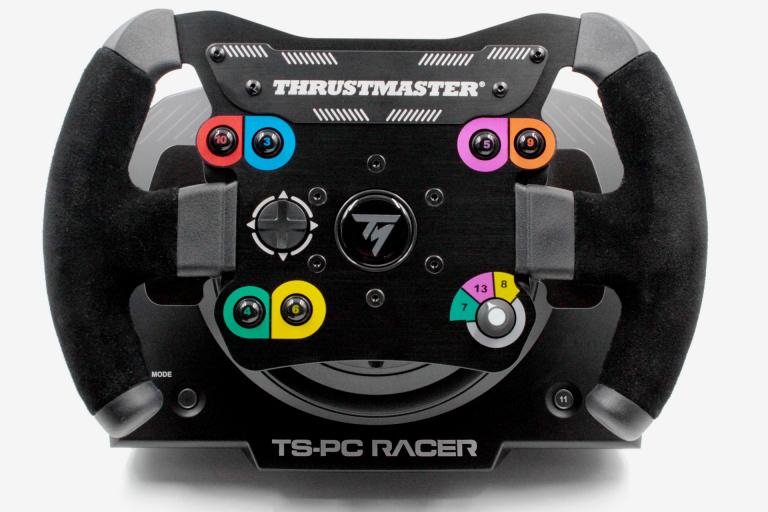 Test du volant Thrustmaster TS-PC RACER : Dans la cour des grands