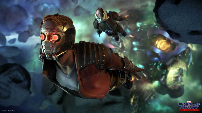 De nouveaux artworks pour Guardians of the Galaxy : The Telltale Series