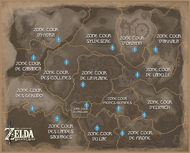 Carte d'Hyrule
