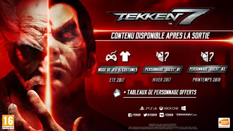 Tekken 7 : voici les détails du Season Pass