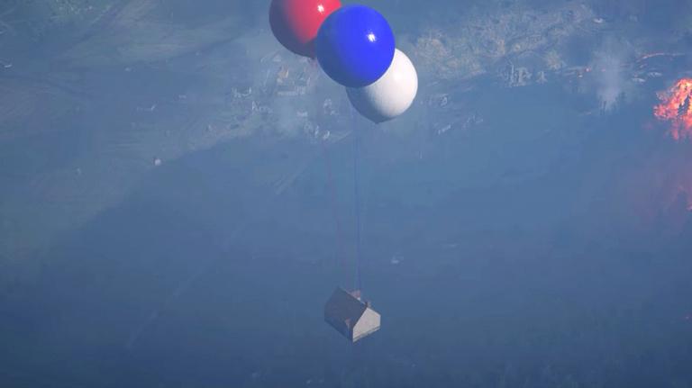 """La maison volante de """"Là-haut"""" s'invite dans Battlefield 1"""