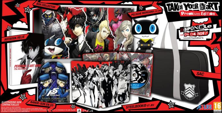 Persona 5 dévoile ses deux éditions collector européennes