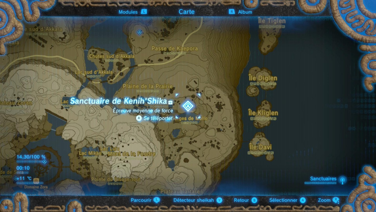 Kenih'Shika - Soluce The Legend of Zelda : Breath of the