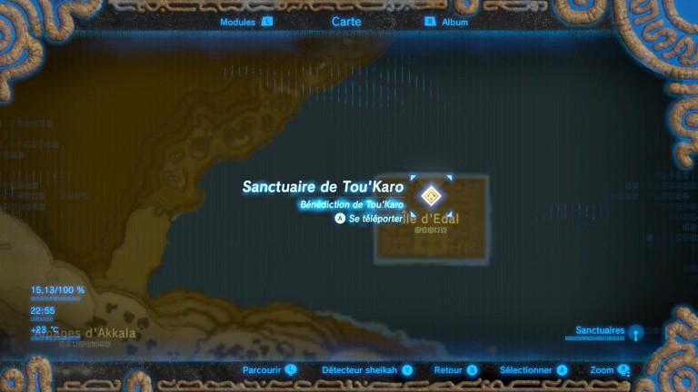 L'épreuve de l'île perdue - Tou'Karo