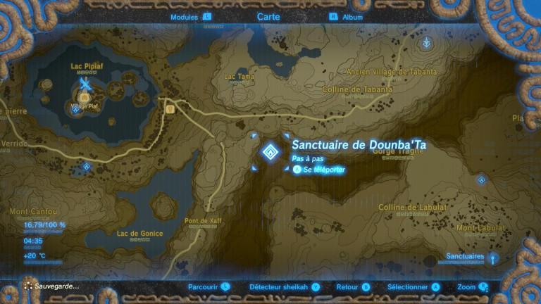 Dounba'Ta - Soluce The Legend of Zelda : Breath of the Wild