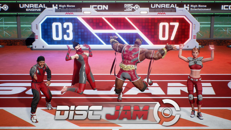 Disc Jam: Le digne héritier de Windjammers ?