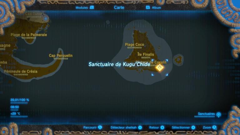 Épreuve en terre sauvage - Kugu'Chide
