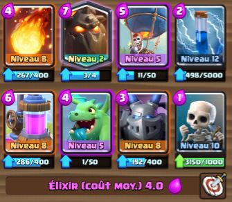 Deck molosse ballon ar ne 7 et astuces et guide for Deck arc x arene 7