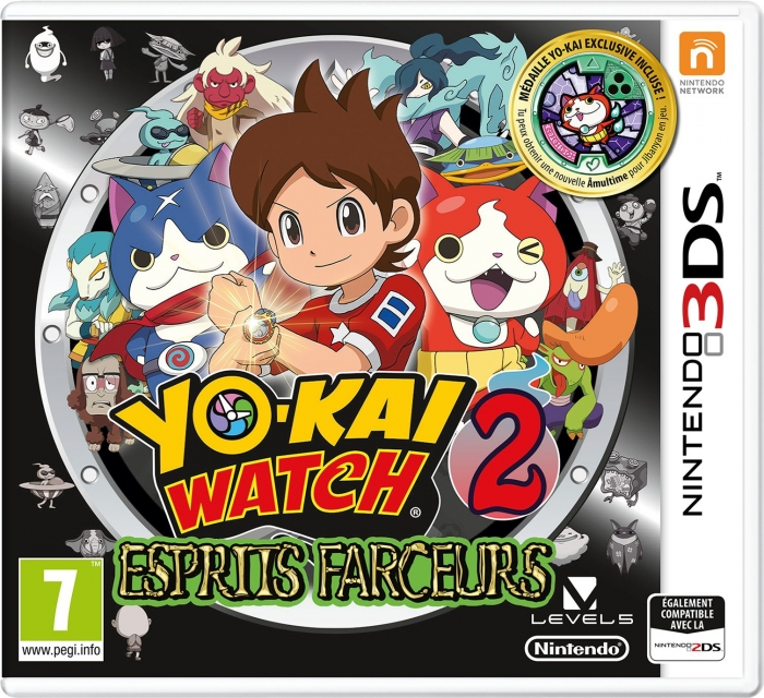 qr codes astuces et guides yo kai watch 2 esprits farceurs. Black Bedroom Furniture Sets. Home Design Ideas
