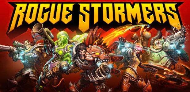 Rogue Stormers, le run'n'gun mou